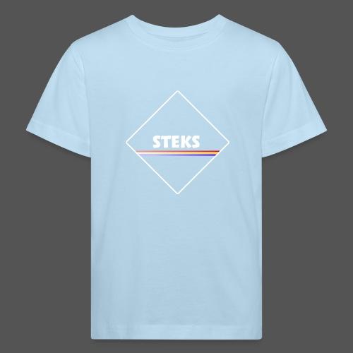 3Color STEKS™ Logo - Kinderen Bio-T-shirt
