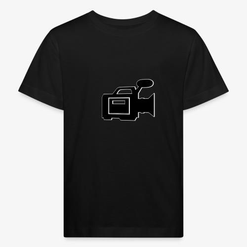 camera - Organic børne shirt