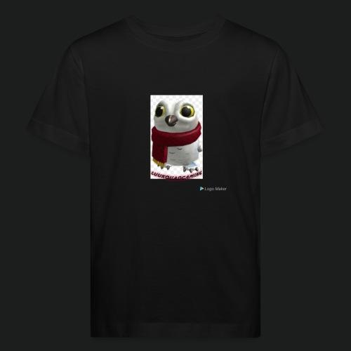 Merch white snow owl - Kinderen Bio-T-shirt