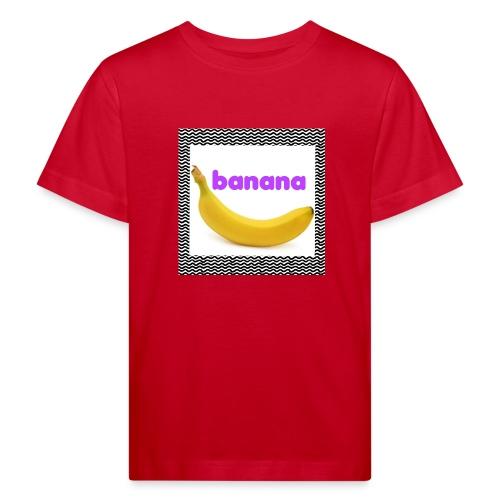 Banaani - Lasten luonnonmukainen t-paita