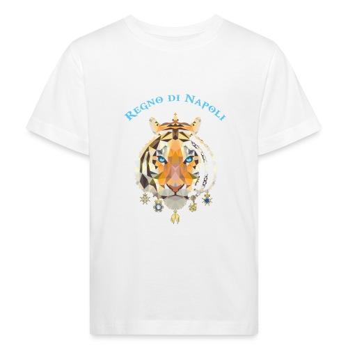 regno di napoli tigre - Maglietta ecologica per bambini