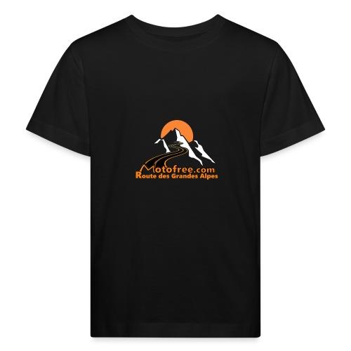 logo motofree orange - T-shirt bio Enfant