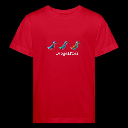 geweihbaer Vogelfrei - Kinder Bio-T-Shirt