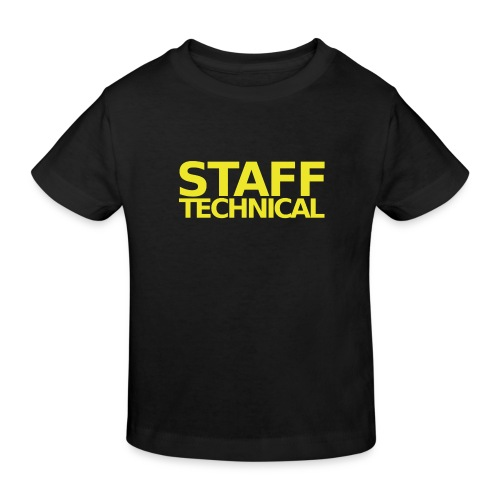 STAFF - Kids' Organic T-Shirt