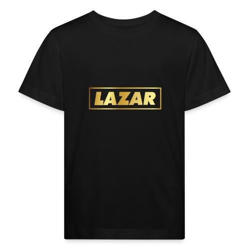 00397 Lazar dorado - Camiseta ecológica niño