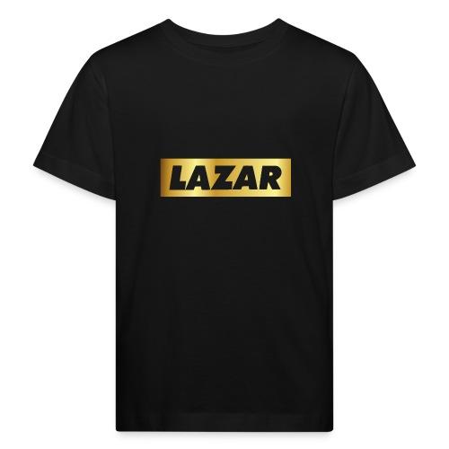 00396 Lazar dorado - Camiseta ecológica niño