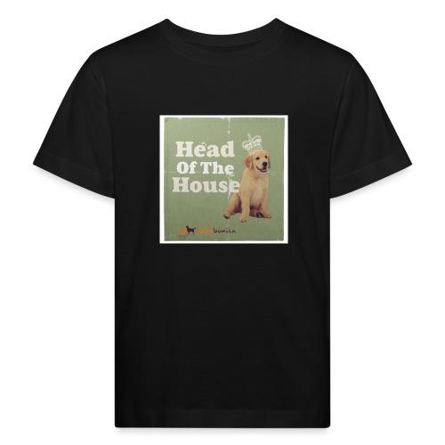 King Golden Retriever Puppy - Maglietta ecologica per bambini