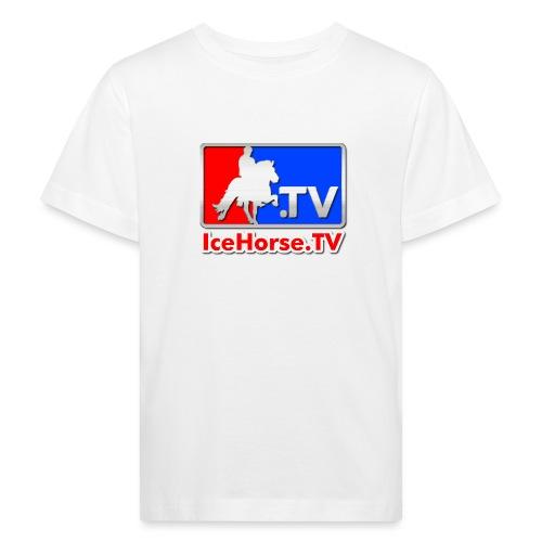 IceHorse logo - Kids' Organic T-Shirt