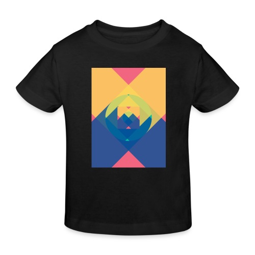 square and shadow - Kinder Bio-T-Shirt