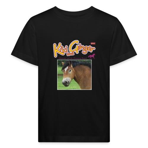 patame Kiki und Ginger mit Golden Sky weiss - Kinder Bio-T-Shirt