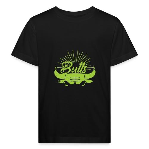 Toros verdes, Bulls BasketBall deporte - Camiseta ecológica niño