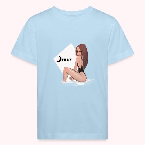Brunette Girl - Maglietta ecologica per bambini