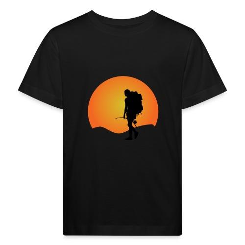 Capoeira me venceu - Kids' Organic T-Shirt