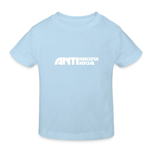 Antifaso_vit - Ekologisk T-shirt barn