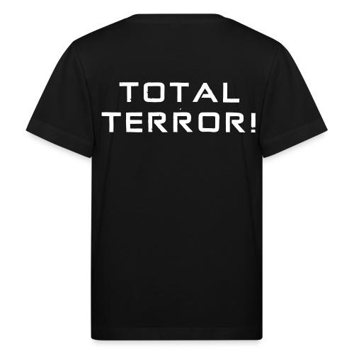 White Negant logo + TOTAL TERROR! - Organic børne shirt