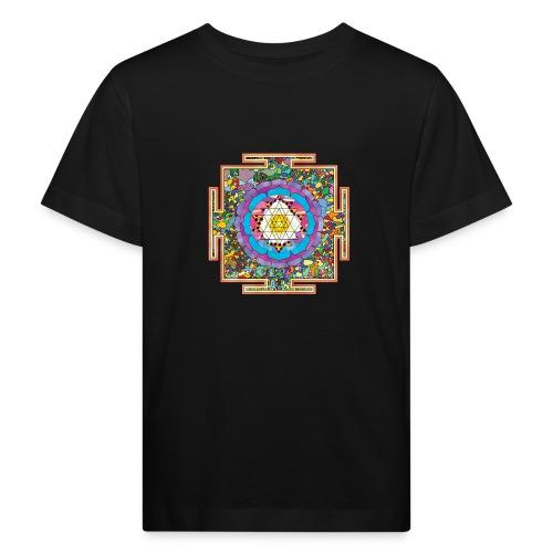 buddhist mandala - Kids' Organic T-Shirt