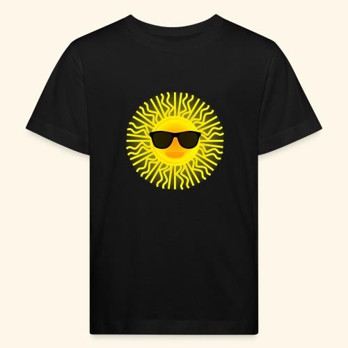 Sol de Canarias - Camiseta ecológica niño