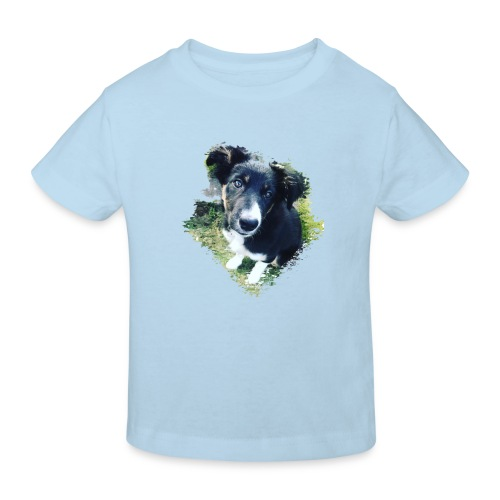 colliegermanshepherdpup - Kids' Organic T-Shirt