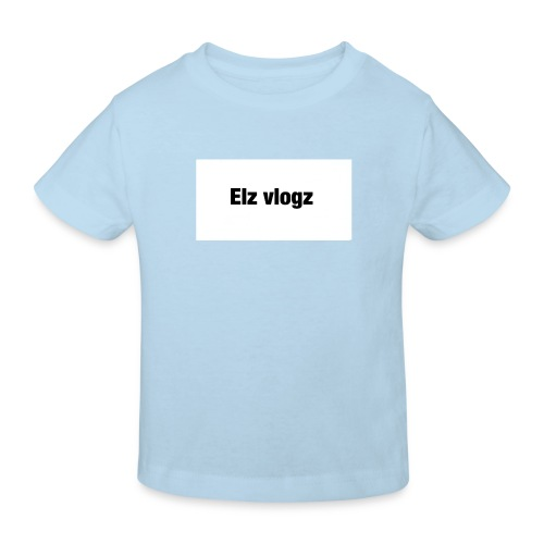 Elz vlogz merch - Kids' Organic T-Shirt