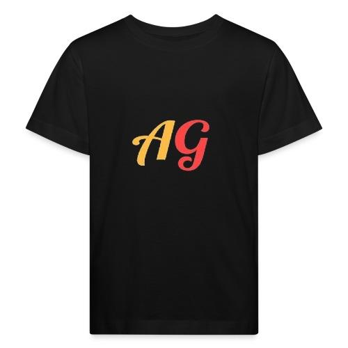 Gekleurde letters - Kinderen Bio-T-shirt