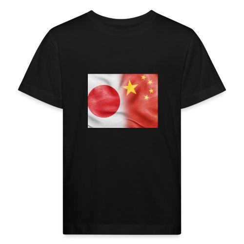 japan china flag - Maglietta ecologica per bambini