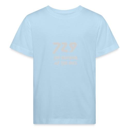 729 grande grigio - Maglietta ecologica per bambini