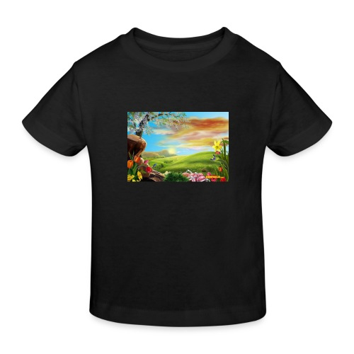 bob ross - Kinder Bio-T-Shirt