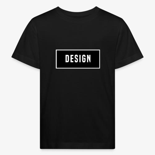 design logo - Kinderen Bio-T-shirt
