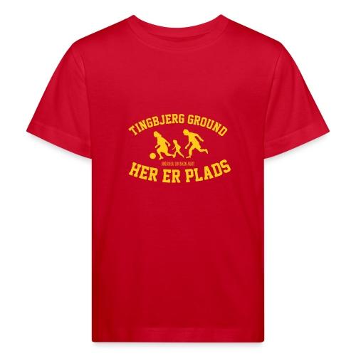 Tingbjerg Ground - her er plads - Organic børne shirt