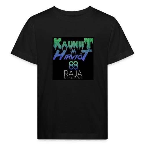 RajaSpeksi: Kauniit ja hirviöt - Lasten luonnonmukainen t-paita