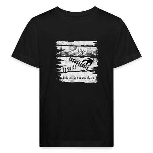 Snowboarder Paradise - Kinder Bio-T-Shirt