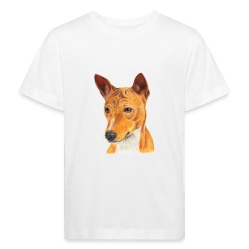 Basenji - Organic børne shirt