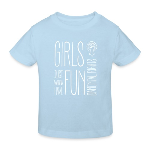 Girls just wanna have fundamental rights - Kinder Bio-T-Shirt