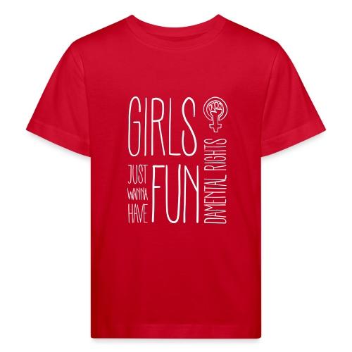Girls just wanna have fundamental rights - Kinder Bio-T-Shirt