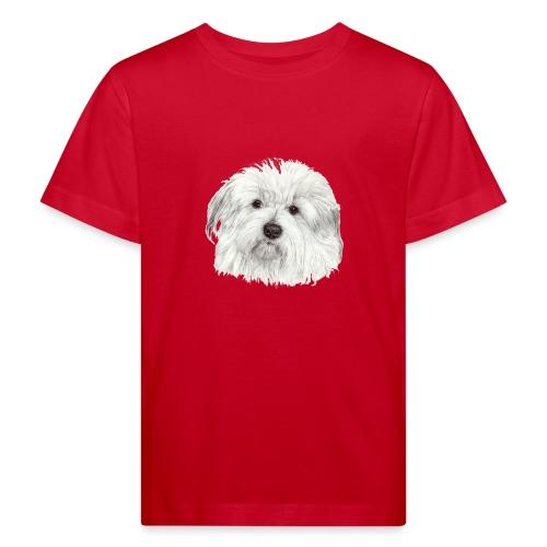coton-de-tulear - Organic børne shirt