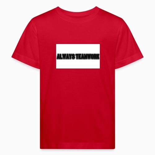at team - Kinderen Bio-T-shirt