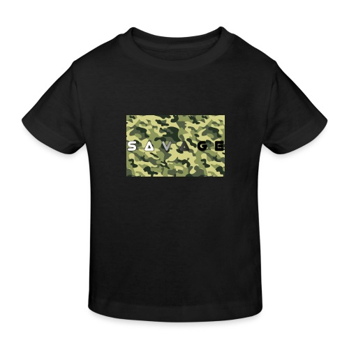 savage camo premium - Kinder Bio-T-Shirt