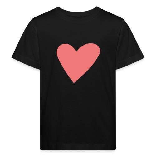 Popup Weddings Heart - Kids' Organic T-Shirt