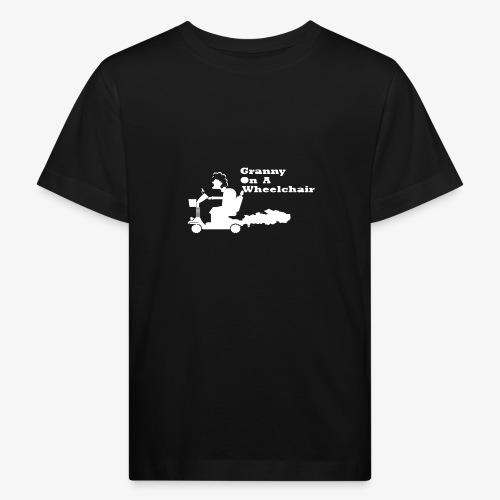 g on wheelchair - Kids' Organic T-Shirt