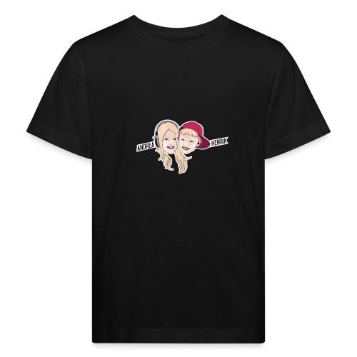 Enkel Logo - Økologisk T-skjorte for barn