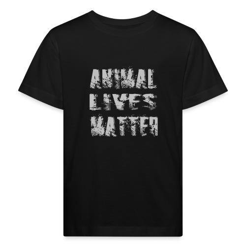 Animal lives matter design - Kinderen Bio-T-shirt
