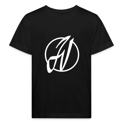JV Guitars - logo blanc - T-shirt bio Enfant