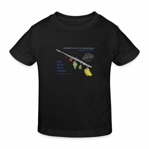 Experimental Musical Instruments - Flute Fruit - Kids' Organic T-Shirt
