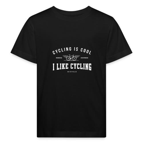 cycling - Ekologiczna koszulka dziecięca