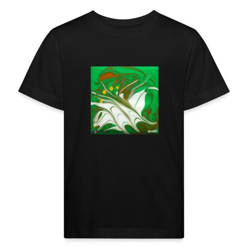 TIAN GREEN Mosaik CG002 - quaKI - Kinder Bio-T-Shirt