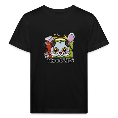 TibouD'ZIC - T-shirt bio Enfant