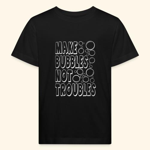 Bubbles003 - Kinderen Bio-T-shirt