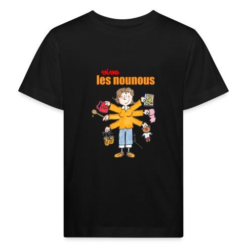 Danger ecole vive les nounous [mp] - T-shirt bio Enfant