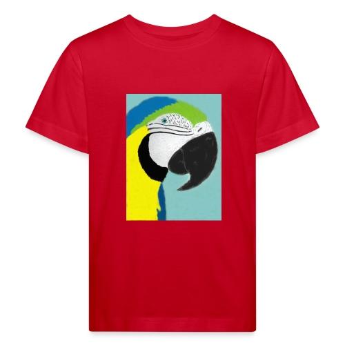 Parrot, new - Lasten luonnonmukainen t-paita