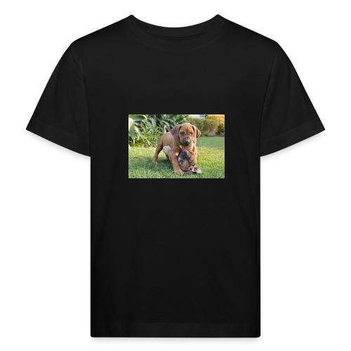 adorable puppies - Kids' Organic T-Shirt